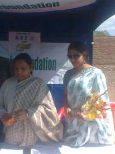 Medical Camp in Ranchi with the Mayor